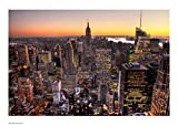 Manhattan New York Poster Kunstdruck