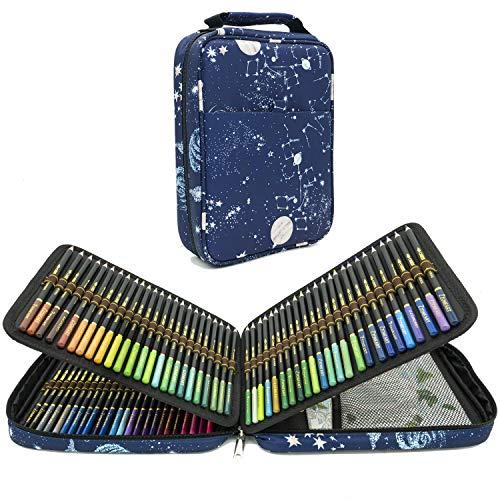 120 Matite Colorate Acquerellabili Professionali per Adulti e Bambini con Nucleo Colorato Di Alta Qualità con Colori Vivaci per Creare Bellissimi Effetti