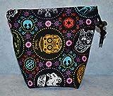Sugar Skull Characters Cloth Drawstring...