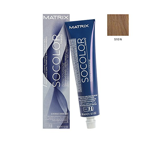 SoColor Beauty Matrix Coloration Permanente Couvrance Maximale 510N Extra Light Blonde Neutral 90 ml