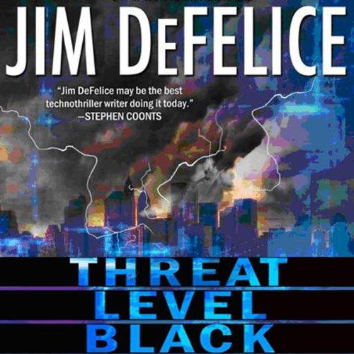 Threat Level Black audiobook cover art