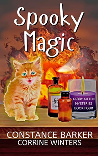 Spooky Magic (Tabby Kitten Mysteries Book 4)