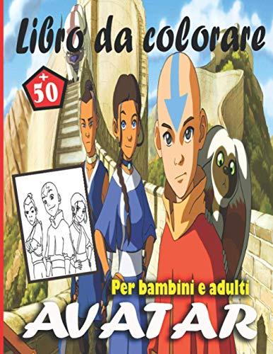 Avatar Libro da colorare_Per bambini e adulti: Contiene più di 50 disegni per bambini e adulti per l'intrattenimento