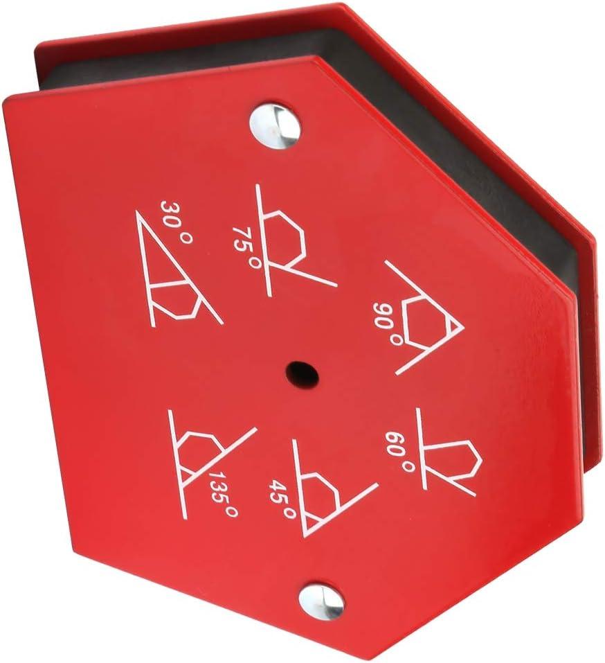Welding Magnet Holder Multi-Angle Six Sides Welding Magnet Holder Arrows Magnetic Welder Fixing Tool 25LBS 50LBS 25LBS