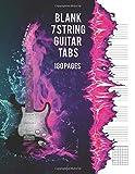Blank 7 String Guitar Tabs: Large Format Tablature 8.5' x 11' - 180 Blank Tablature Pages For & String Guitar