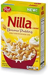 Post Nilla Banana Pudding Cereal (19 oz. Box)