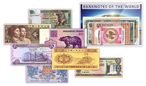 IMPACTO COLECCIONABLES Billetes del Mundo - 50 Billetes Diferentes de 34 Países