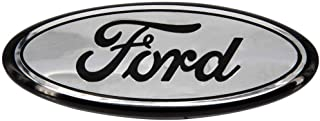 9inch Front Grille Oval Emblem Badge Nameplate fit for Ford F250 F350, 11-14 Edge, 11-16 Explorer, 06-11 Ranger (Chrome)