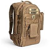 Tactical Baby Gear Daypack 3.0 Tactical Wickeltasche Rucksack Combo Set (Coyote Braun)