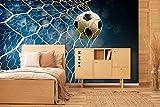 Oedim Fotomural Vinilo para Pared Fútbol | Fotomural para Paredes | Mural | Fotomural Vinilo Decorativo | 200 x 150 cm | Decoración comedores, Salones, Habitaciones