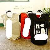 Canasta de lavandería plegable, canasta de tela Oxford portátil, caja de almacenamiento de juguetes, bolsa súper grande, cesto de lavandería, manijas de metal, organizador, gris claro