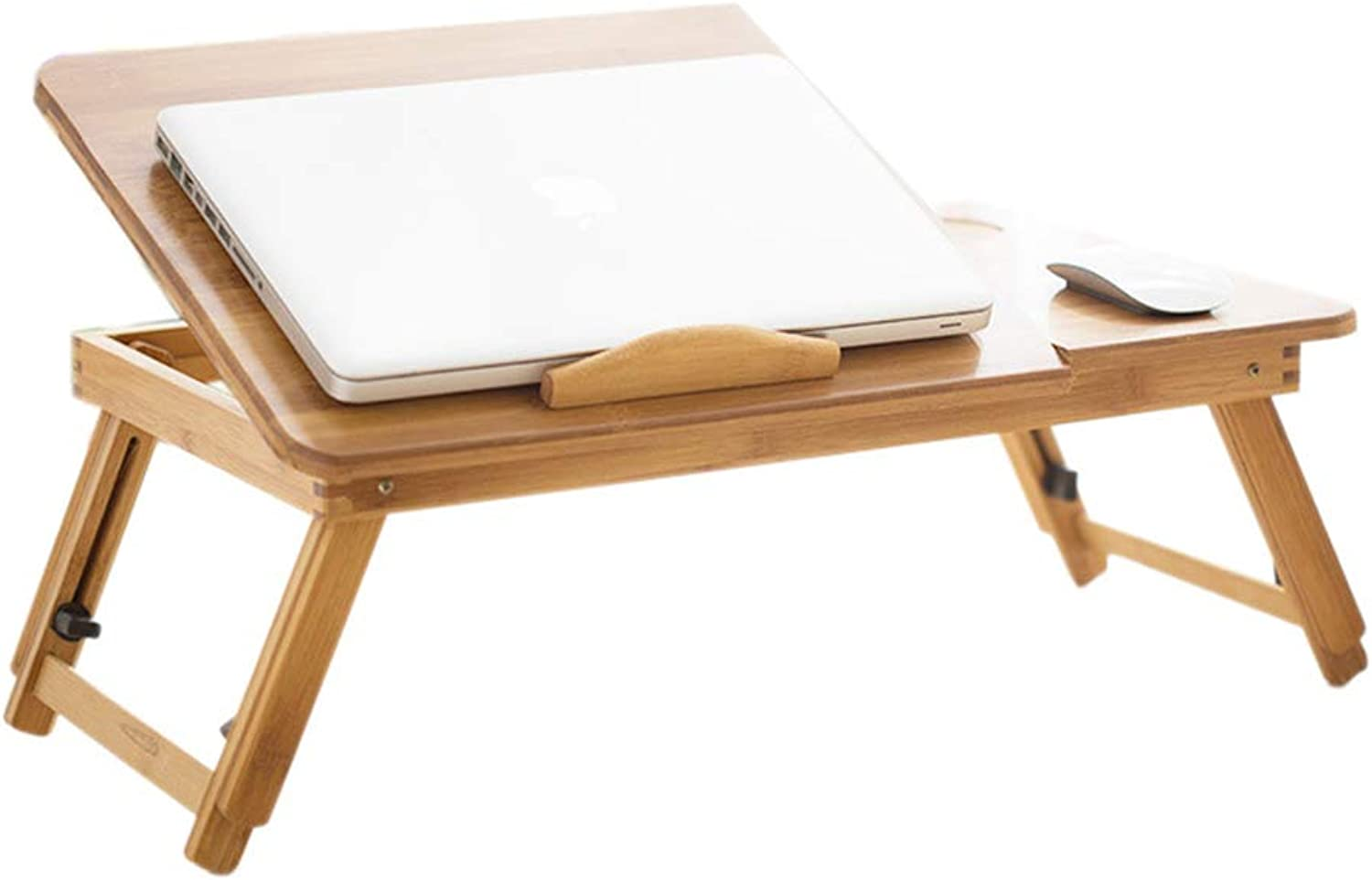 Computer Desk - Bed with Folding Computer Table Lazy Small Desk Mini Student Notebook