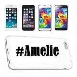 Reifen-Markt Etui pour téléphone Portable Compatible pour iPhone 6S Hashtag #Amelie - l'affaire du téléphone n'est Pas de Apple Produit ou Vendu