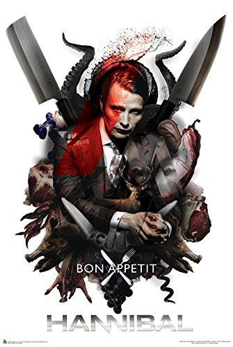 Hannibal - Bon Appetit Poster (60,96 x 91,44 cm)