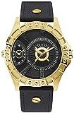 Reloj Guess W1297G1 Chrome para Hombre, Dorado y Negro, Caja de 50 mm