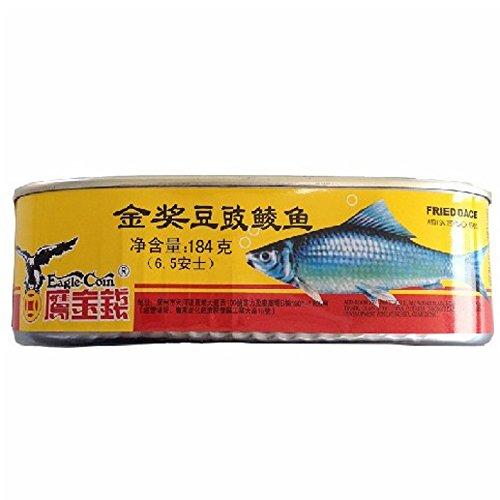 豆??? 豆鼓魚 うぐいとトウチのうま煮 魚缶詰 148g