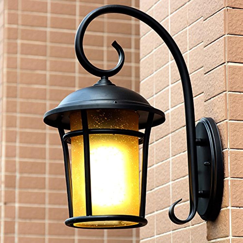 VC-outdoor lighting, wasserfeste outdoor - lampen, villen, outdoor - originalitt, retro - gartenmauer lampe, balkon, outdoor wall lamp,über Gold