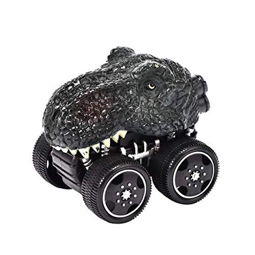 Voiture de Dinosaure, Mamum Voitures Jouet Dinosaure Modèle Pull-Back et Aller Voitures Véhicules Dinosaur Jouet Dino Car Toys pour Enfants BébTout-Petits (C)