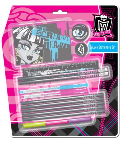 Anker - Ankmhds - Kit De Loisirs Créatifs - Ensemble Papeterie De Monster High