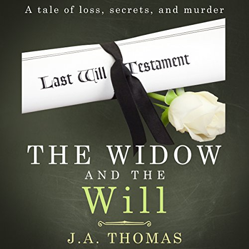 The Widow and the Will audiobook cover art