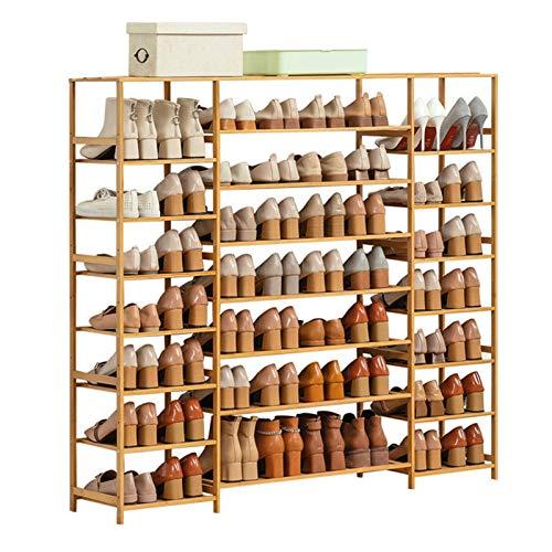 ReedG Organizador de Almacenamiento de Zapatos Unidad Entrada Estante Estante Apilable Gabinete de 8 Niveles Zapato Zapato Torre Estante de Zapatos Almacenamiento de Zapatos Organizador Zapatero