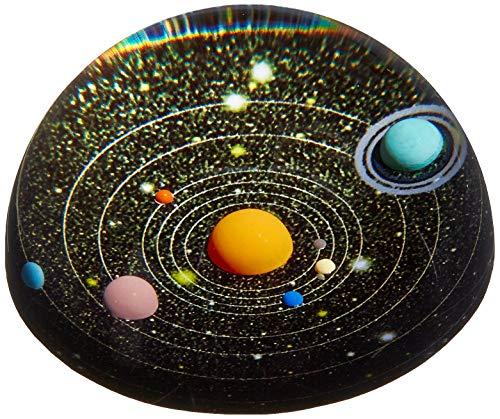 Kikkerland Planetarium Papiergewicht, SC22, schwarz