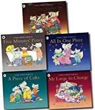 The Large Family 5 Children books Set Collection (A Quiet Night In, A Piece of Cake, All In One Piece, Mr Large In Charge, Five Minutes' Peace) [Paperback] [Jan 01, 2017] Jill Murphy