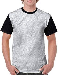 BlountDecor Cotton T-Shirt,Mexican Festive Hat Fashion Personality Customization