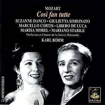 Mozart: Così Fan Tutte - Danco, Simionato, Stabile