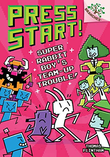 Compare Textbook Prices for Super Rabbit Boy's Team-Up Trouble!: A Branches Book Press Start! #10 Library Edition 10 Library Edition ISBN 9781338569001 by Flintham, Thomas,Flintham, Thomas