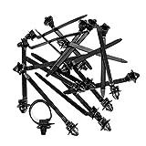 50pcs Cable de nylon corbata Clips de sujetadores de telar de...