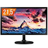 Samsung Monitor 21,5 S22F350Fhl Preto Brilhante