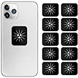 Anti Radiation Cell Phone Sticker, 99% EMF Protection Shield Sticker for Cellphone, Laptops, Tablets, iPhone, iPad (10 Pack)