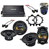 Compatible with Chevy CK Pickup 1995-2000 OEM Speaker Upgrade Harmony R5 R46 &...