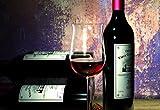 CASO WineDuett Touch 21 | Weinkühlschrank für 21 Flaschen Rotwein | 2 Zonen mit eigener Tür 7-18°C, LED, Touch, 7 Böden, getöntes Glas, schwarz - 8