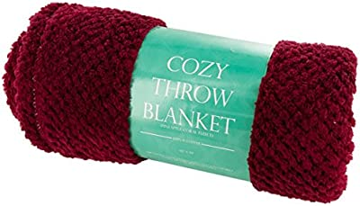 bulk buys OL633 Cozy Textured Coral Fleece Throw Blanket