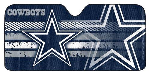 Hall of Fame Memorabilia Dallas Cowboys Auto Sun Shade - 59''x27''