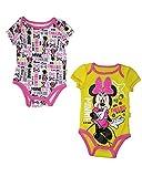 Disney Baby Minnie Mouse Strampler-Set für Kleinkinder, 2 Stück - - 0/3 Monate