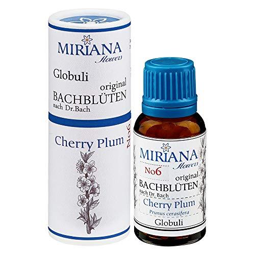 MirianaFlowers Cherry Plum 20g Bachblüten Globuli
