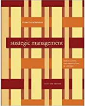 Strategic Management: Formulation, Implementation, and Control (11th Edition)
