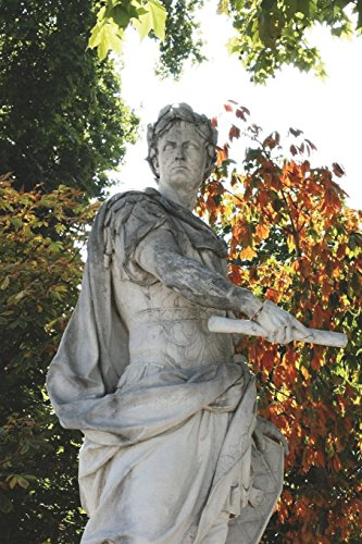 Statue of Julius Caesar Journal: 150 page lined notebook/diary