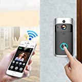 Langle Home Wireless Remote Monitoring Real-Time Two-Way Talk Video Doorbell Remote Home Monitoring Systems
