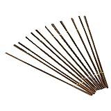 Juego de sierras de joyero, sierras de 144 piezas Mecanizado de metales artístico Los joyeros vieron marcos 1 / 0-8 / 0 (1/0)