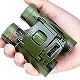 Prismáticos Compacto 8x21, Prismáticos Mini para Niños, Ideales para Observación de Aves, Acampada, Caza, Ópera, Conciertos