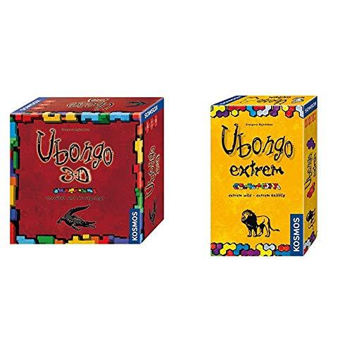 Kosmos 690847 - Ubongo 3-D Brettspiel & 699437 - Ubongo Extrem - Mitbringspiel