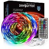 DAYBETTER Led Strip Lights 32.8ft 5050 RGB 300 LEDs...