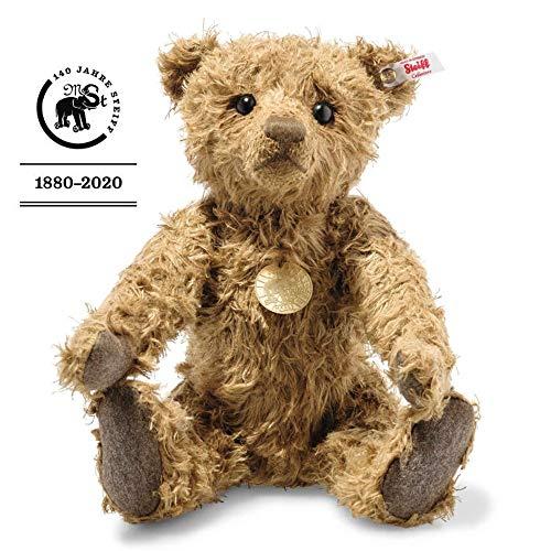 Steiff Teddybär Hansel 006968 feinster Hanfplüsch limitiert auf 1000 Stück Sammler braun 5-Fach-gegliedert