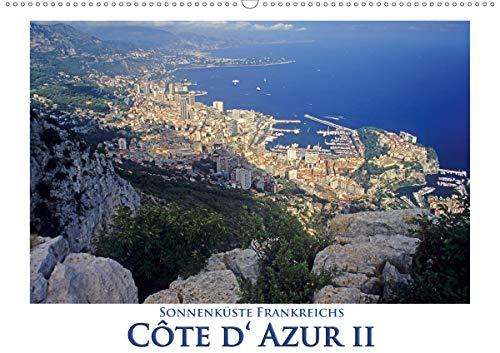 Cote d' Azur II - Sonnenküste Frankreichs (Wandkalender 2021 DIN A2 quer)