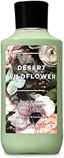 Bath and Body Works Desert Wildflower Super Smooth 24 hr Lotion 8oz Full Size