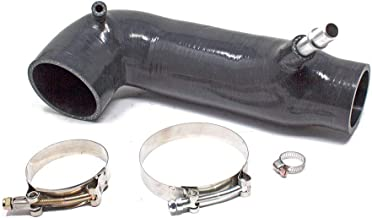 Silicone Turbo Inlet Hose, Black, fits Cadillac ATS 2.0L Turbocharged 2013-19